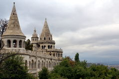 Fisherman's Bastion in Budapest Stock Photography