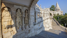 Fisherman's Bastion in Budapest Stock Photo