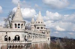 Fisherman s Bastion, Budapest royalty free stock image