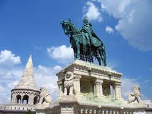 Fisherman's Bastion - Budapest, Hungary Stock Photos