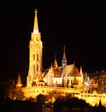 The Fisherman's Bastion in Budapest - Hungary Stock Image