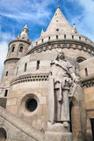 Fisherman's Bastion. Budapest, Hungary Royalty Free Stock Photo