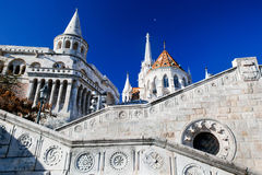 Fisherman's Bastion. Budapest, Hungary Royalty Free Stock Photos