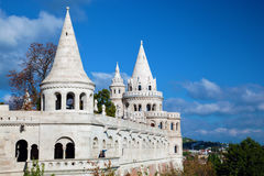 Fisherman's Bastion. Budapest, Hungary Royalty Free Stock Image
