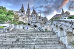 Fisherman's Bastion, Budapest Royalty Free Stock Images