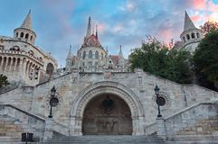 Fisherman's Bastion, Budapest Stock Photos