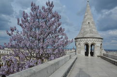 Fishermans Bastion in Budapest Royalty Free Stock Photography