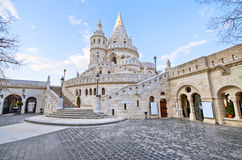 Fisherman's Bastion in Budapest, Hungary Stock Images