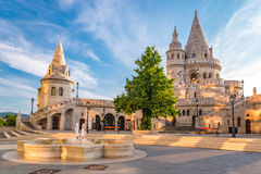Fisherman's Bastion - Budapest - Hungary. Fisherman's Bastion at Budapest - Hungary Stock Photo