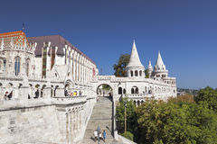 Fisherman's Bastion in Budapest, Royalty Free Stock Photography