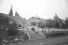 Fisherman`s Bastion in Budapest Stock Photography