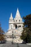 The Fisherman's Bastion, Budapest, Hungary. The Fisherman's Bastion is one of the main sights for visitors of beautiful Budapest Royalty Free Stock Photos