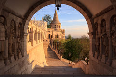 Fisherman's Bastion,Budapest,Hungary Royalty Free Stock Photo