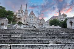 Fisherman's Bastion, Budapest, Hungary Royalty Free Stock Photos