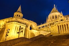 Fisherman's Bastion, Budapest Stock Photo