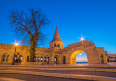 Fisherman's Bastion in Budapest, Hungary Stock Photo