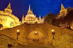 Fisherman's Bastion, Budapest, Hungary Stock Photo