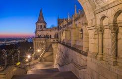 Fisherman's Bastion in Budapest, Hungary stock image