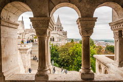Fisherman's bastion Royalty Free Stock Photos