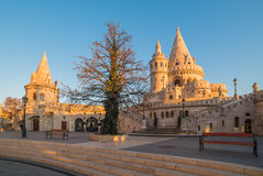 Fisherman's Bastion in Budapest, Hungary Stock Image
