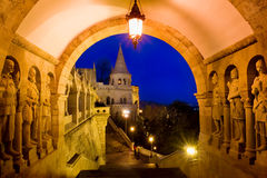 The Fisherman's Bastion in Budapest, Hungary Royalty Free Stock Photo