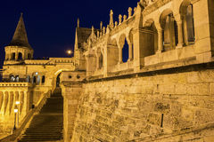 Fisherman's Bastion in Budapest, Hungary Stock Photography
