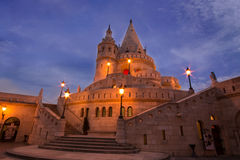 Fisherman`s bastion in Budapest Royalty Free Stock Photo