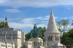 Fisherman's Bastion in Budapest Stock Image