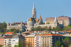Fisherman's Bastion in Budapest Royalty Free Stock Photos