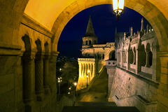 Fisherman's Bastion detailed Royalty Free Stock Images