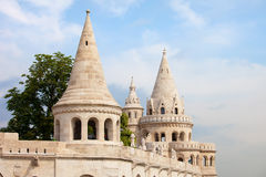 Fisherman's Bastion in Budapest Stock Images