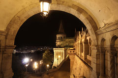 Fisherman S Bastion In Budapest, Hungary Royalty Free Stock Photo