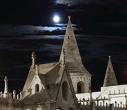 Fisherman's Bastion in night Stock Photography