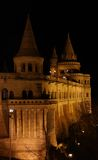 Fisherman`s bastion at night Stock Photography