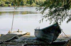 Fisherman's boat Stock Photography