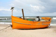 Fisherman's boat Royalty Free Stock Photography