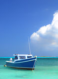 Fisherman's boat in Aruba Royalty Free Stock Photos