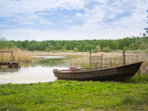 Fisherman's boat. Stock Photos
