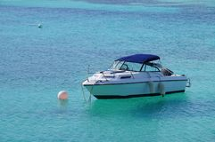 Fisherman's boat. Fisherman's boat in Little Sound, Bermuda Stock Image