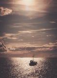 Fisherman's boat Royalty Free Stock Image