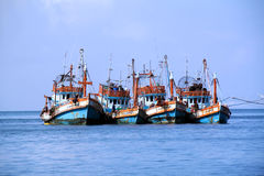 Fisherman's boats Royalty Free Stock Images