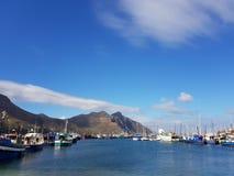 Fisherman's boats. Boats fisherman sea ocean mountains nature sky harbour stock photo