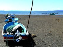 Fisherman& x27;s boats Royalty Free Stock Photo