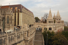 Fisherman's castle in Budapest Royalty Free Stock Image