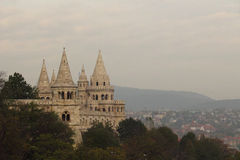 Fisherman's castle in Budapest Royalty Free Stock Photos