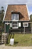Fisherman's cottage from Marken in Dutch Open Air Museum in Arnhem Stock Images
