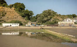 Fisherman's Cottage. Cottage by the sea, in Shanklin, Isle of Wight Royalty Free Stock Photo