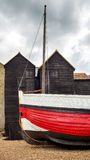 Fisherman's Net Huts at Hastings Stock Photography
