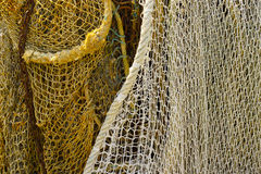 Fisherman's nets background Royalty Free Stock Images