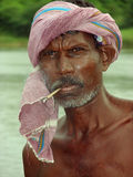 Fisherman's portrait Royalty Free Stock Photo